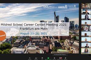 Mildred Scheel Career Center Meeting 2021