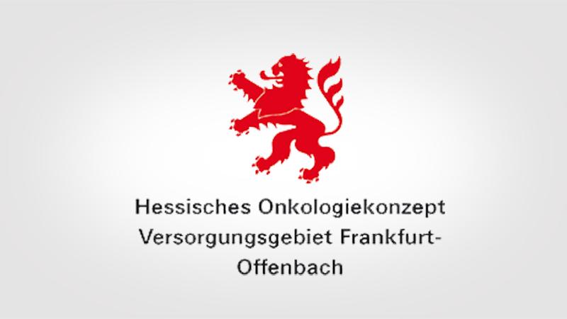 Hessisches Onkologiezentrum Versorgungsgebiet Frankfurt-Offenbach Logo